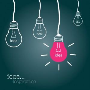 Idea, inspiration, action